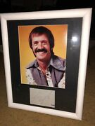 Sonny Bono Psa Dna Signed Autographed Index Card 11x14 Matted Photo Framed-coa
