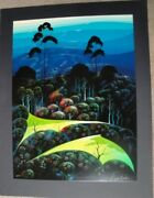 Eyvind Earle Inland From The Sea 1991 S/n Serigraph