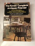 Vtg 1976/7 Kovels Complete Antiques Price List Guide Book Ninth Edition 9th
