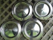 Vintage 1975 75 Chevy Chevrolet Impala Chevelle Belair Hubcaps Wheel Covers