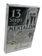 13 Steps To Mentalism, Magic Trick Instruction Book For Mind Reading