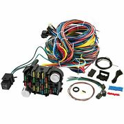 21-22 Circuit Wiring Harness Chevy Mopar Ford Hotrods Universal Extra Long Wires