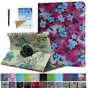 For Old Ipad 2 3 4 2011-2012 360 Rotating Case Cover Stand Magnetic Sleep/wake