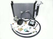 Underhood Performance A/c Kit,1969-70 Ford Mustang W/302and428 V8, Polished Finish