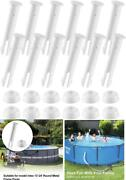 Plastic Pool Joint Pins 12 Pcs For Intex 10ft12ft Above Ground Pool 3 Sizes