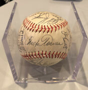 1974 Chicago White Sox Team Signed Baseball Chuck Tanner Rich Gossage Jim Kaat