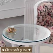 Tablecloth Plastic Soft Clear Round Oilproof Glass Cover Wedding Party Suppliers