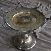 Victorian James W. Tufts Silver Plate Serving Pedestal 2253 - Amazing Detail