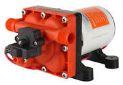 12v Seaflo 4.0 Gpm Water Pump Rv Boat Variable Flow Bypass Valve Reduces Cycling