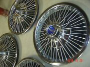 66 67 68 69 70 Ford Mustang Fairlane Falcon Re-polished Spoke Wire Cover Hubcap