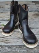 Wesco Horse Hyde Morrison Boots Limited Edition Size 9.5e Height 9 Black