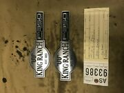 2003-2007 Ford F350 6.0l Powerstroke King Ranch Fender Emblems As93386