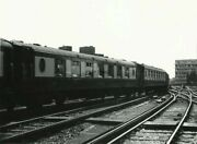 Photo Pullman Cars Nos 61 And 75 Departing Waterloo As Part Of The Consist Of