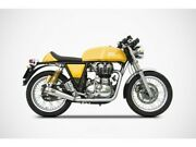 Zre534skr - Full Exhaust Zard Stainless Steel Royal Enfield Continental Gt