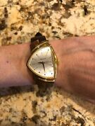 Hamilton Watch 6250 Water Resistant Brown Leather Band