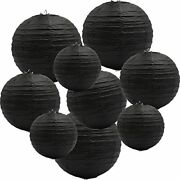 Round Hanging Paper Lanterns Decorations, Party Wedding Birthday Baby Showers 9