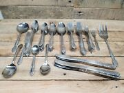 Large Lot Of 80+ Northland Stainless Made In Japan Large Set Of Silverware