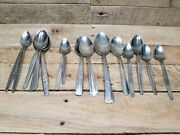 15 Pcs Stainless Silverware For Craft Projects