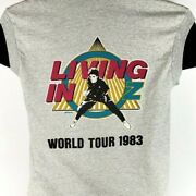 Rick Springfield T Shirt Vintage 80s 1983 Living In Oz Tour Made In Usa Small