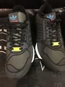Adidas Zx Flux Sneakers Trainers 3m B54177 Black New Menand039s - Size 12