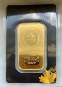 1 Oz Gold Bar - Royal Canadian Mint Old Style, Sealed In Assay Card 500761