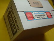 Sealed Case 1000 Vintage Steel Strong Half Dollar Coin Wrappers - One Case