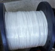 2500and039 18 Awg Mil-spec Ptfe Silver Plated Copper White Hard To Find