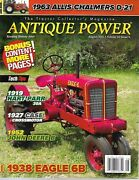 The Tractor Collectorand039s Magazine Antique Power Aug 2017.