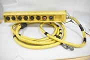 Square D 9001-skyp8 6-ton Pendant Control Station 8 Button + Cable And Connector