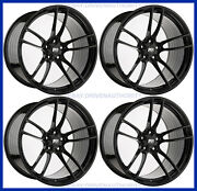 19 X 11 P51 Flow Forged Square Set Wheels Rims 2015+ Ford Mustang Track Light