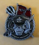 Special Reconnaissance Team 1 / One Ser 445 Navy Seals Challenge Coin / Seal
