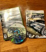 Need For Speed Most Wanted Xbox 360, 2005 Complete / Cib / Tested / Original