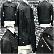 Ultra Rare And Gorgeous Dior Homme Aw12 Leather Multi Zip Biker Jacket Prototype