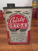 Vintage Cristy Dry Gas Tin. Awesome Graphics