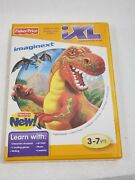 Learning Software By Fisher Price Ixl Learning System Game Imaginext Age 3-7 Yrs