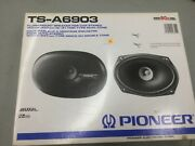 Vintage Pioneer Ts-a6903 6x9 Flush Mount Car Stereo Speakers - New
