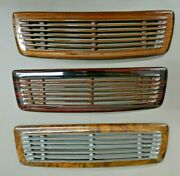 Mercedes W111 W113 Wood Speaker Cover 230sl 280 Reproduction Covered Real Wood