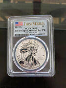 2019 S American Eagle One Ounce Silver Enhanced Reverse Proof Pr69 Free Shipping