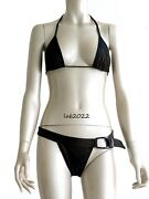 Tom Ford New 1997 Runway Two Piece Brown Ombrandeacute Bikini Swimsuit Small