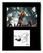 Selena Gomez Autographed Signed Rare Cd Album Matted Photo Display