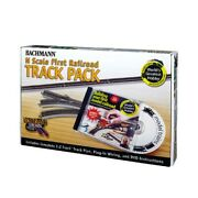 Bachmann 44896 N-scale Worlds Greatest Hobby E-z Track Pack With 47 Pieces
