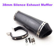 38mm Silence Exhaust Muffler For Chinese Pit Dirt Bike Motorcycle Atv Quad Parts
