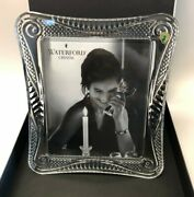 Waterford Crystal Seahorse Photo Picture Frame 8x10 New In The Box