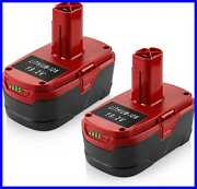 Powilling 2pack 5.0ah 19.2 Volt Lithium Battery Replacement For Craftsman C3 Xcp