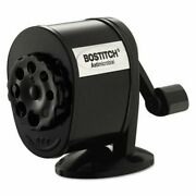 Bostitch Table-mount/wall-mount Manual Pencil Sharpener, Black Bosmps1blk