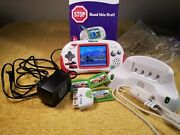 Leapfrog Leapster Explorer Cars Edition 4 Games, Camera And Charging Dock Bundle