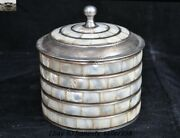 Old China Chinese Ancient Tibetan Silver Palace Dynasty Pot Box Jewelry Boxes