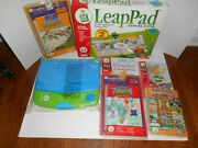 Leap Frog Leappad Learning System W/ 5 Books - 4-8 Years New In Open Box