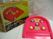 Vintage 1970 Marx Toys Giant Skill Ball Game With Original Box Complete G296