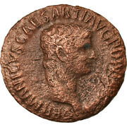 [900913] Coin, Germanicus, As, Roma, Vf, Bronze, Ric106